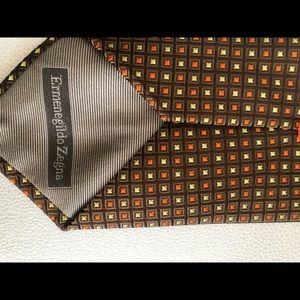 Ermenegildo Zenga Silk Neck Tie